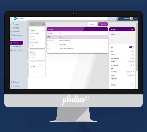 Plutius képernyőfotó